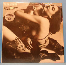 SCORPIONS LOVE AT FIRST STING LP 1984 ORIGINAL SHRINK PLAYS GREAT! VG++/VG++!!D