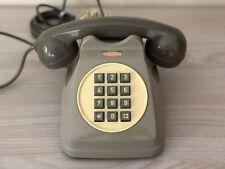 Telefono tasti Sip Italtel Bigrigio vintage design Saltini no disco