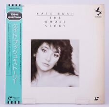 04370 F/S by Air EX Laserdisc KATE BUSH THE WHOLE STORY [L100-1076] w/OBI Japan
