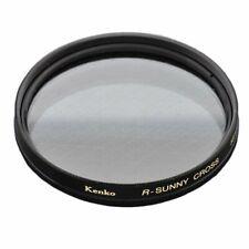 Kenko 58mm R-Sunny 8 Point Cross Screen Camera Lens Filter - Made In Japan