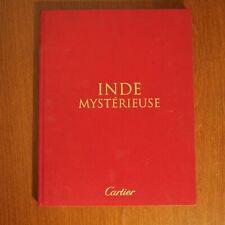CARTIER INDE MYSTERIEUSE Vintage Book Lookbook Catalog