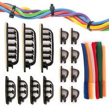 66 Piece Cable Desktop Management Set - Keep Computer Cords Organized