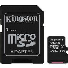 Kingston 128GB Canvas Sélectionnez MICRO SDXD TF Carte Mémoire Adaptateur SD -