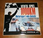 """Aufkleber Sticker GULF Porsche 917, """"Ventilspiel"""" Oldtimerrennen Red Bull Ring"""