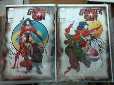 Grifter Shi #1-2 signed by Shi creator Billy Tucci
