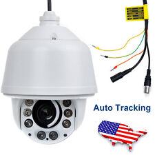Auto Tracking 1200TVL PTZ SONY CMOS 30X ZOOM DOME CCTV OUTDOOR Camera 8IR 205B