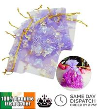 LUXURY ORGANZA GIFT BAGS BUTTERFLY JEWELLERY WEDDING FAVOUR BAG CHRISTMAS GIFTS