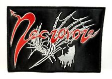 NECROVORE (  logo) EMBROIDERED PATCH