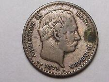 1875 (h) CS Denmark Silver 10 Ore.  #29