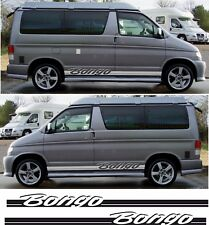 Mazda Bongo Friendee Side stripes stickers decals Auto Free Top Aero any colour