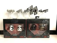 Star Wars TITANIUM Series Helmets Phasma Stormtrooper And Hot Wheels 9 Pieces