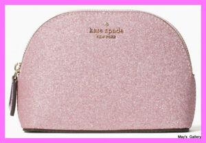 Kate Spade Handbag Cosmetic Bag Make Up Case Purse Hand Bag Jewel Lola Glitter