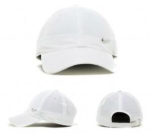 JUNIOR NIKE NIKE METAL SWOOSH CAP WHITE (SAC2) RRP £9.99