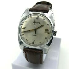 Vostok USSR Watch Men's Casual Retro Style Mechanical Date TESTED Soviet Russia