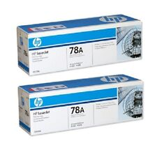 Lot OF 2 HP P1566 P1606 CE278A 78A Toner Cartridges Sealed In New Style Boxes