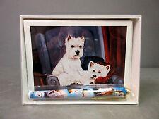 New West Highland White Terrier Pet Dog 6 Notecards Envelopes & Pen Gift Set