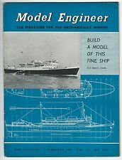 Model Engineer February 1957 Vol.116 No.2907 Percival Marshall & Co Ltd Good-