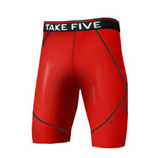 Take Five Mens Skin Tight Compression Base Layer Running Pants Leggings NP527