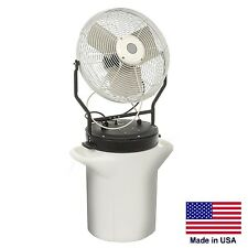 Misting Fan - Self Contained - Hand Carry -  5,750 CFM - 120 Volts - 130 PSI