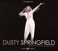 DUSTY SPRINGFIELD - LIVE AT THE ROYAL ALBERT HALL (CD+DVD) 2 CD + DVD POP  NEW!