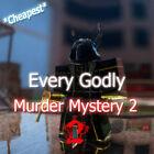 💰CHEAPEAST💰 MM2 Super Rare Godlys Roblox *FAST DELIVERY* (Read Description!)