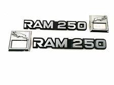 DODGE RAM 250 EMBLEM - SET - ORIGINAL - VINTAGE AUS USA