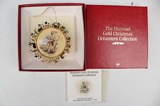 The Hummel Gold Christmas Ornament Collection 'The Little Goat Herder'