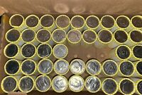 HALF DOLLAR COIN ROLL One (1) POSSIBLE 90% or 40% Silver Kennedy FED SEALED READ
