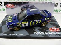 RMIT11H 1/43 IXO Rallye Monte Carlo : SUBARU IMPREZA 555 1995 P.Liatti