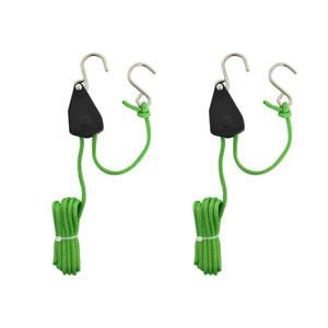 Grow Bitz Heavy Duty Rope Ratchets - 130kg Grow Lights Filter Kits Hydroponics