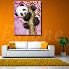 5D DIY Cross Stitch Panda Flowers Tree Diamond Embroidery Painting Home Decor