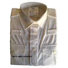 Army Dress Uniform Shirt Blouse White Womens Ladies Long Sleeve 35/96 cm