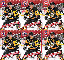 2017 UD NATIONAL HOCKEY CARD DAY SIDNEY CROSBY CAN-10 PRIDE OF CANADA LOT (6)