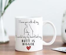 Funny Valentines Day Gift For Him, Husband,Wife-Funny Birthday Gift - White mug