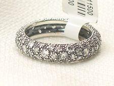 New Pandora Sterling Silver 190915CZ-60 Cosmic Stars Sparkling Ring