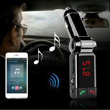 Latest LCD Bluetooth Car Kit MP3 FM Transmitter USB Charger Handsfree For iPhone