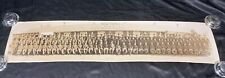 Vintage Us Army 1203rd Service Unit Panoramic Photo