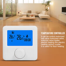 Digital Heating Programmable Thermostat Temperature Controller LCD Display NTC z
