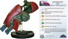 Heroclix 1x x1 Master Chief (Ghost) 045 Halo 10th Anniversary NM with card