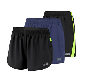 Time to Run Men/'s Split Pace Spirit Active Running//Gym//Athletics Shorts with Lin