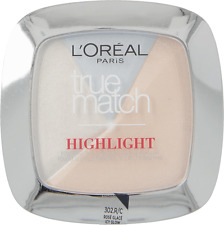 L'Oreal Perfect Match Blush Highlighter Powder Illuminator 302 Icy Glow (3 Pack)