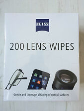 Zeiss 200 Lens Wipes Single Sachets Gentle & Though Cleaning Of Optical Surfaces