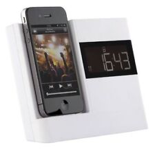 KITSOUND XDOCK Iphone 4 4s 30 Pin Radio Reloj Estación De Acoplamiento Música Altavoces