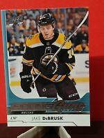2017-18 Upper Deck Young Guns 212 Jake DeBrusk Boston Bruins