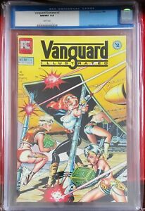 Vanguard Illustrated #2 (1984) CGC 9.8 White Pages Dave Stevens Cover