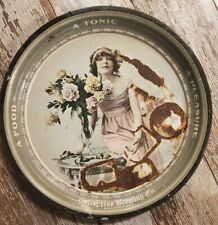 Antique Beer Tray-American Maid. Enterprise Brewing Co. S.F.
