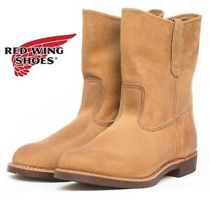 NEW Red Wing 8188 Pecos Hawthorne Muleskinner USA Men's 8 E Leather Boots