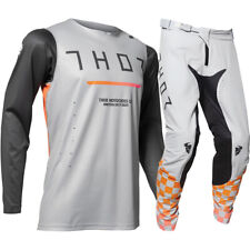2020 Thor Prime Pro Trend MX Motocross Offroad Adult Gear Kit Charcoal/Grey NEW
