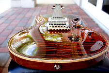 Paul Reed Smith Custom 24  Pattern Thin Neck, Orange Tiger Brand NEW!