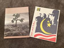 U2 Joshua Tree 1987 LoveTown(Rattle & Hum) 1989 Tour Program Lot Concert
